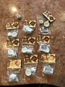 Lot Of 9 Square Miniatures Pitchers And Bowls Porcelain For Doll Houses