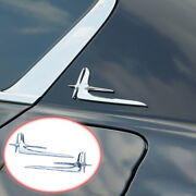 Steel Chrome Fit For Honda Accord 2018-2020 Automobile Body Side Mark Decoeation