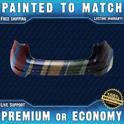 New Painted To Match - Rear Bumper For 2014-2019 Ford Fiesta Sedan 4dr 14-19