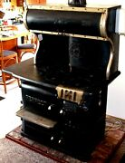 Wood Cook Stove Richardson And Boynton 653-e Rt Fire Box New Fire Lining Hot Water