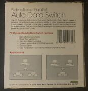 Bidirectional Parallel Auto Data Switch Db25 2 Computers To 1 Printer