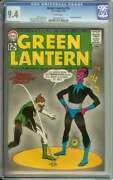 Green Lantern 18 Cgc 9.4 White Pages // Sinestro Appearance