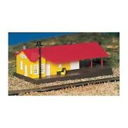 New Bachmann 45907 Freight Station Built-up N Scale Train Building Free Us Ship