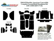 1964 - 1969 Rambler American Convertible Complete Acoustic Insulation Kit