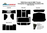 1936 Chevy Truck Complete Acoustic Insulation Kit