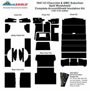 1947 - 1953 Chevy Suburban Complete Acoustic Insulation Kit