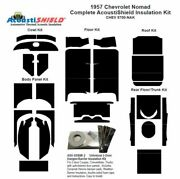 1957 Chevrolet Nomad Complete Acoustic Insulation Kit