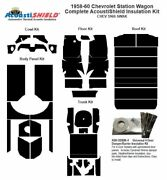1959 - 1960 Chevrolet Station Wagon Complete Acoustic Insulation Kit