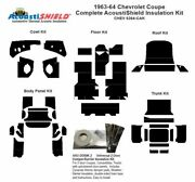 1963 1964 Chevrolet Coupe Complete Acoustic Insulation Kit