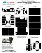 1964 - 1970 Chevy Van Complete Acoustic Insulation Kit