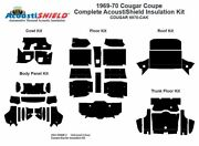 1969 1970 Cougar Coupe Complete Acoustic Insulation Kit