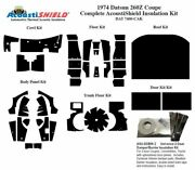 1974 Datsun 260z Coupe Complete Acoustic Insulation Kit