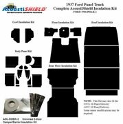 1937 Ford Truck Panel Delivery Complete Acoustic Insulation Kit Style 1
