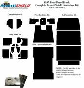 1937 Ford Truck Panel Delivery Complete Acoustic Insulation Kit Style 2
