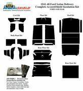 1941 - 1948 Ford Sedan Delivery Complete Acoustic Insulation Kit