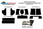 1948 - 1952 Ford Truck Complete Acoustic Insulation Kit