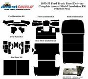 1953 - 1955 Ford Truck Panel Delivery Complete Acoustic Insulation Kit