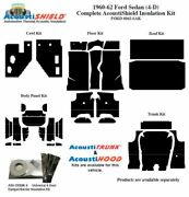 1960 - 1962 Ford Galaxie Sedan Complete Acoustic Insulation Kit