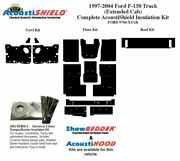 1997 - 2004 Ford Truck Extended Cab Complete Acoustic Insulation Kit