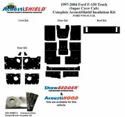 1997 - 2004 Ford Truck Regular Cab Complete Acoustic Insulation Kit