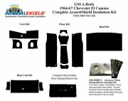1964 - 1967 Chevy El Camino Complete Acoustic Insulation Kit