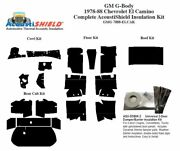 1978 - 1988 Chevy El Camino Complete Acoustic Insulation Kit