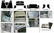 1999 - 2005 International 4 700 Truck Complete Acoustic Insulation Kit