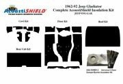 1962 - 1992 Jeep Gladiator Complete Acoustic Insulation Kit