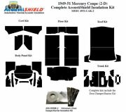 1949 - 1951 Mercury Coupe Complete Acoustic Insulation Kit