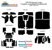 1957 - 1958 Mercury Coupe Complete Acoustic Insulation Kit