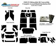 1949 - 1952 Oldsmobile 88 And 98 Convert Complete Acoustic Insulation Kit
