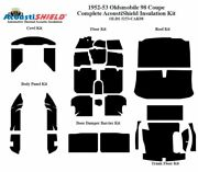 1952 - 1953 Oldsmobile 88 And 98 Coupe Complete Acoustic Insulation Kit