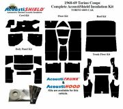 1968 1969 Torino Coupe Complete Acoustic Insulation Kit