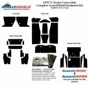 1970 1971 Torino Convertible Complete Acoustic Insulation Kit