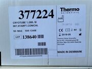 1case/500 Thermo 377224 Nunc Biobanking And Cell Culture Cryogenic Tubes 1.0ml