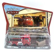 Disney Pixar Cars Movie Moments Red And Stanley Supercharged Diecast Toy Car Set