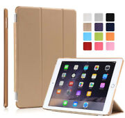 Ipad Air 1 Case Pouch Slim Pu-leather Ipad 5 Case Cover Pen Gold