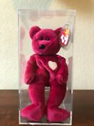 Valentina Extremely Rare Ty Beanie Baby With Tag Errors 1998 / 1999 Mint