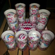 Zuru 5 Surprise Mini Brands 8 Double Packs ☆new And Sealed☆lot Of 16 Balls☆
