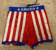 Xavier Woods Consequences Creed Ring Worn Pro Wrestling Trunks Tights Gear