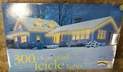 10 New Boxes 300 Clear Mini Icicle 3000 White Lights 6 Boxes Clips Christmas