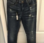 Blank Nyc Women's Distressed Skinny Jeans 'time For Dat' Size 30