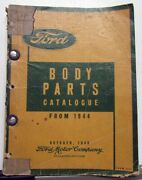 1944-1949 Ford Dealer Body Parts Book Catalogue Car And Truck Sedan Coupe Pickup