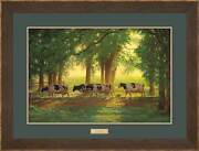 Heading Home - Cows Framed Limited Edition Print By Chris Cummings