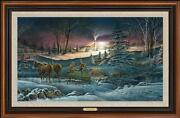 A Helping Hand Framed Master Canvas By Terry Redlin