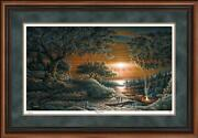 Puppy Love Framed Limited Edition Print By Terry Redlin