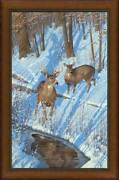 Shadows Of Bow Hunting Framed Limited Edition Canvas By Michael Sieve