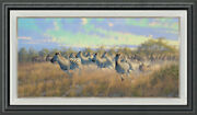 The Thundering Herd Framed Limited Edition Canvas By Michael Sieve