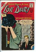 Love Diary 22 1962-charlton-12andcent Cover Price Issue-boxing Story-heartbreak-vg