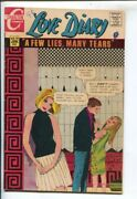 Love Diary 54 1968-charlton-12andcent Cover Price-love Story-vg